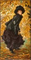 Octobre, 1877, by James Tissot