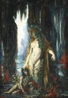 Le Poète et la Sirène, 1886, by Gustave Moreau