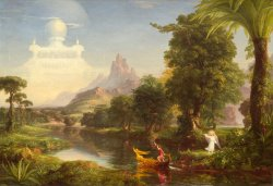 The Voyage of Life: Youth, 1842, by Thomas Cole