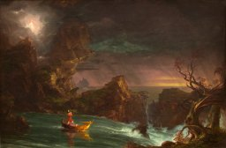 The Voyage of Life: Manhood, 1842, by Thomas Cole