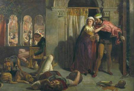 The Eve of Saint Agnes by William Holman