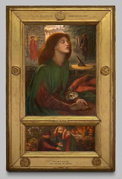 Beata Beatrix, 1871/72, by Dante Gabriel Rossetti