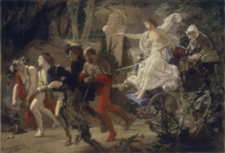 The Thorny Path, 1873, by Thomas Couture